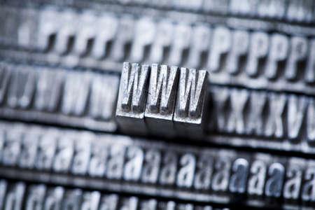 Internet symbols - www Stock Photo - 6373290