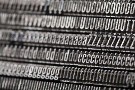 Alphabet and typo Stock Photo - 6333001