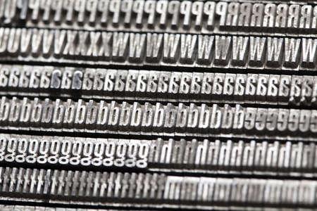 Typography Stock Photo - 6373351