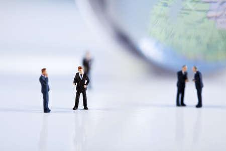 Success in modern business photo