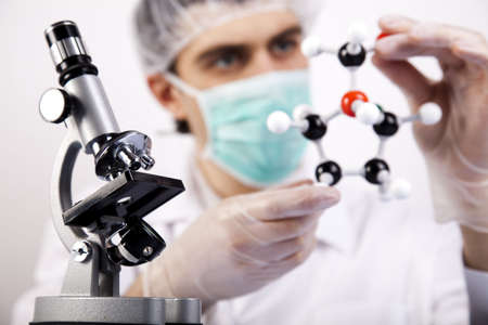 Scientist Researching Stock Photo - 6333662