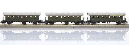 Wagon isolated on white background photo