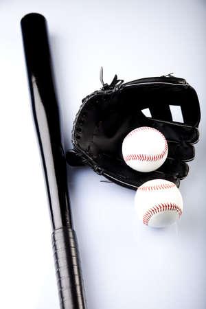 guante beisbol: Guante de b�isbol con Ball Foto de archivo