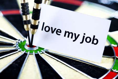 ide: I love my job! Stock Photo