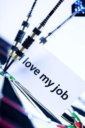 I love my job! Stock Photo - 6537177