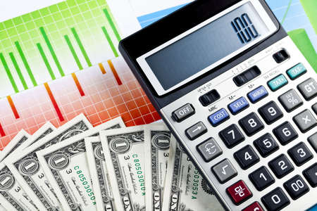 Calculator Stock Photo - 6537181