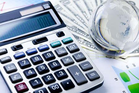 contabilidad financiera cuentas: Diagrama y calculadora
