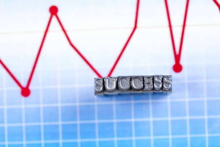 succes: Office succes and Typography  Stock Photo