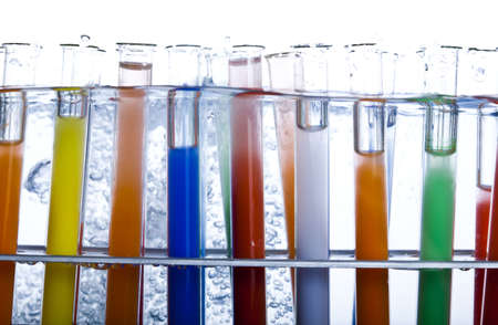 Colorful laboratory photo