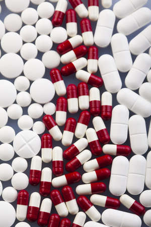 pharmacologist: Tablets & Medicines  Stock Photo