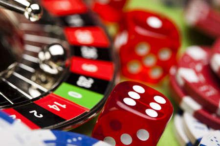 casino table: Roulette    Stock Photo