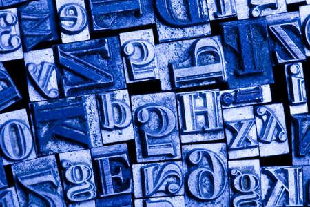 Alphabet and typo Stock Photo - 7382478