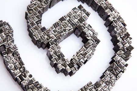 Internet symbols Stock Photo - 7382486