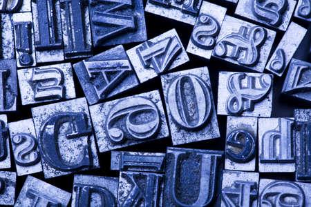 fond: Print, fond, letters