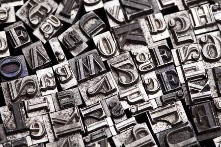 Print letter cases Stock Photo - 7382496