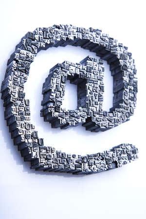 Internet symbols Stock Photo - 7382499