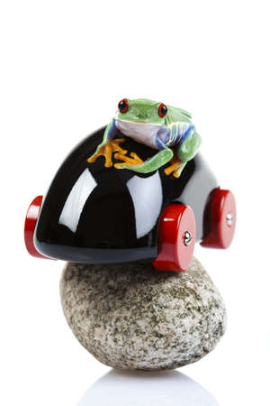lean out: Crazy frog
