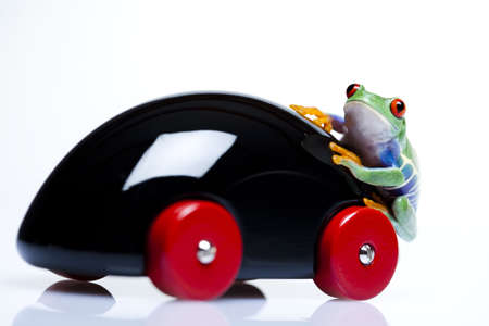 lean out: Driver frog