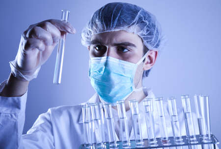 Scientist working in a laboratory  Stock Photo - 7384390