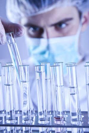Scientist in laboratory       photo