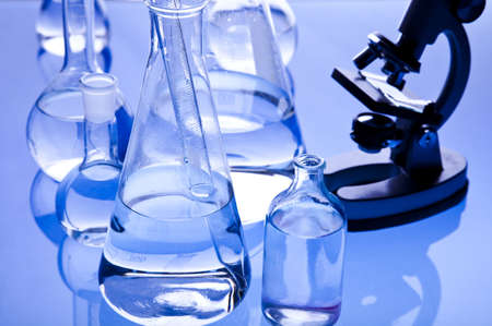 Working in a laboratory  Stock Photo - 7383271
