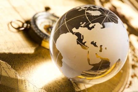 global direction: Globe