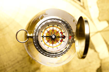 compasses: Navigation Stock Photo