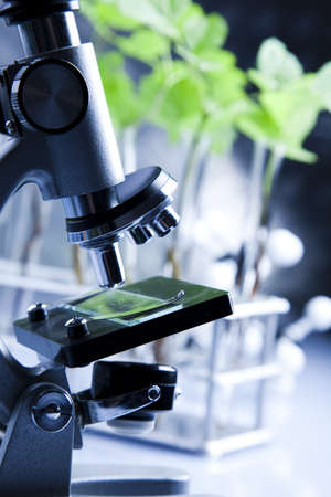pipeptte: Biotechnology Stock Photo