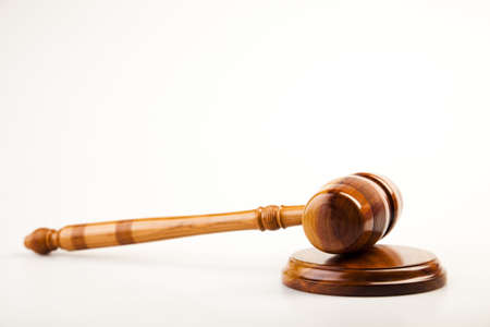 Wooden gavel barrister Stock Photo - 7512226