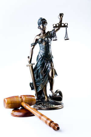 justice statue: Justice statue  Stock Photo