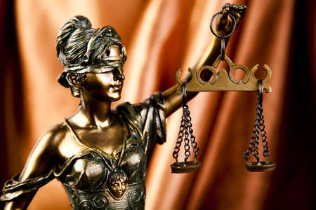 Scales of Justice Stock Photo - 7370726