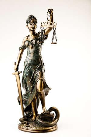 gerechtigheid: Standbeeld van Dame rechtvaardigheid