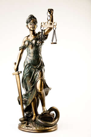 Statue of lady justice Stock Photo - 7370714