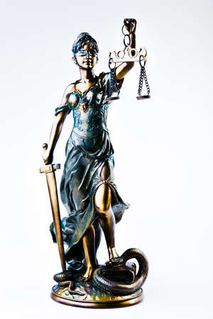Statue of lady justice Stock Photo - 7370694