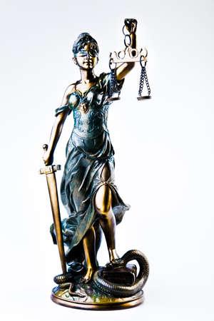judicature: Statue of lady justice