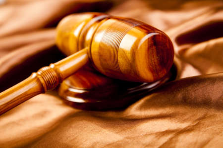 Wooden gavel barrister Stock Photo - 7370707