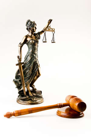 Lady of justice Stock Photo - 7370689