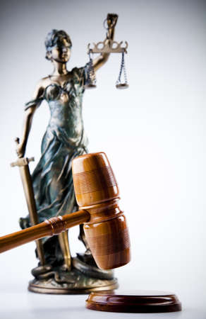 Lady of justice photo