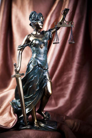 Lady of justice Stock Photo - 7370652