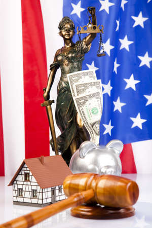God of law Stock Photo - 7370660