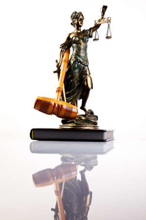 judiciary: Statue of lady justice