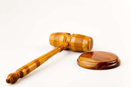 orden judicial: Martillo  Foto de archivo