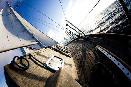 cruising: Baltic Sea on Sailing Stock Photo