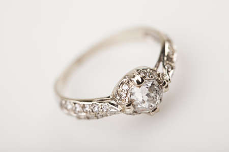 diamond ring: Ring with diamond