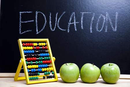 School, apple photo