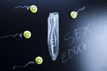 Condom education photo