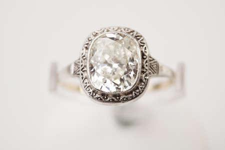 Ring with diamond   photo