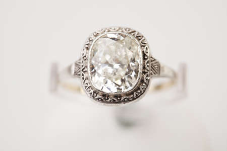 edelstenen: Ring with diamond
