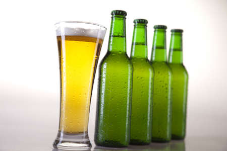 unbottled: Bottles Of Beer  Stock Photo