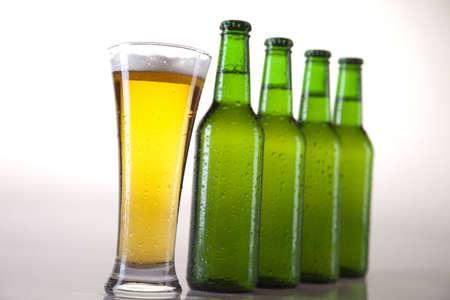 Butelki Of Beer  Zdjęcie Seryjne